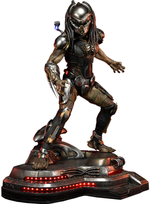 Fugitive Predator Deluxe Version Statue