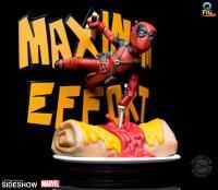 Gallery Image of Deadpool Maximum Effort Q-Fig Max Diorama