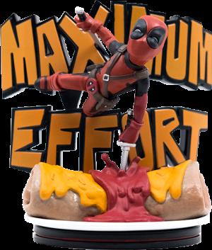 Deadpool Maximum Effort Q-Fig Max Diorama
