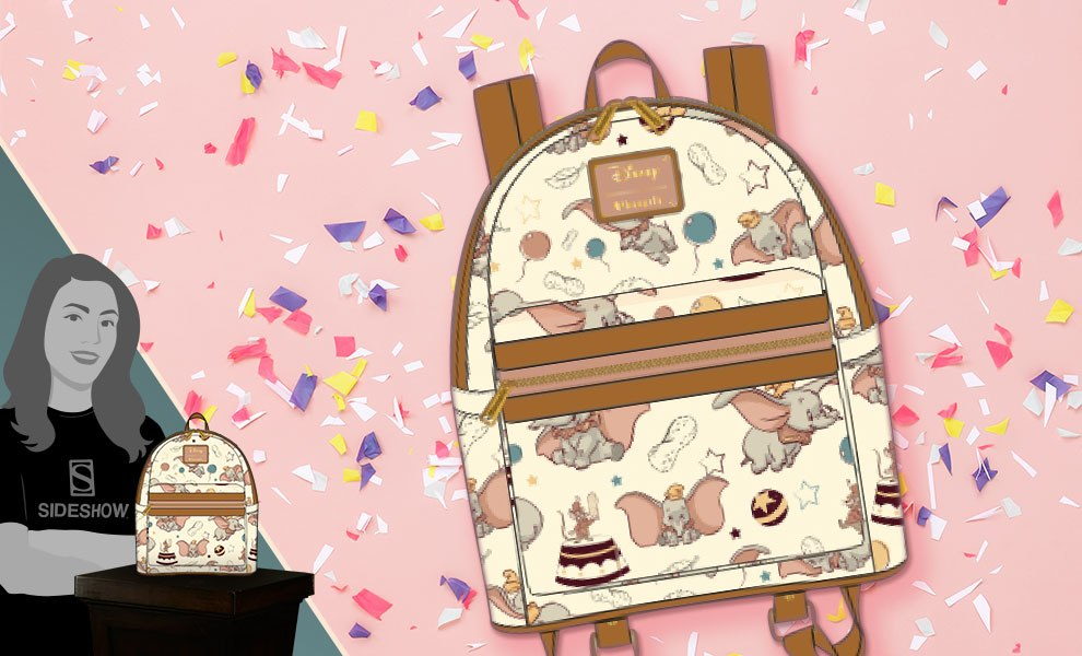Gallery Feature Image of Dumbo Mini Backpack Apparel - Click to open image gallery