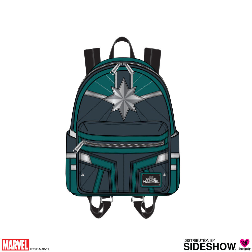 3cdb94d04d1b Captain Marvel Training Mini Backpack Apparel by Loungefly ...