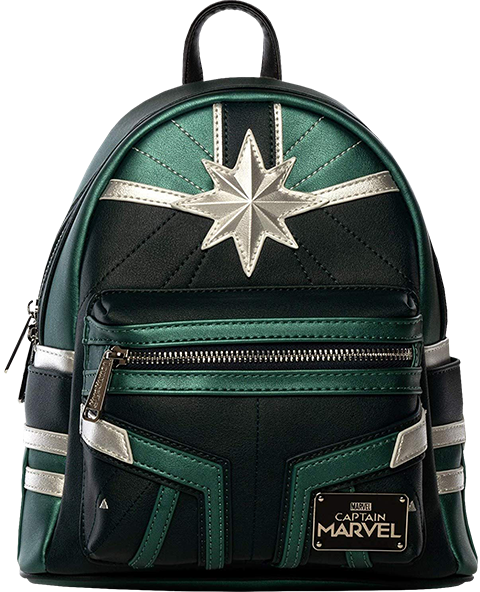 Captain Marvel Training Mini Backpack Apparel by Loungefly ... 4019587447fe6