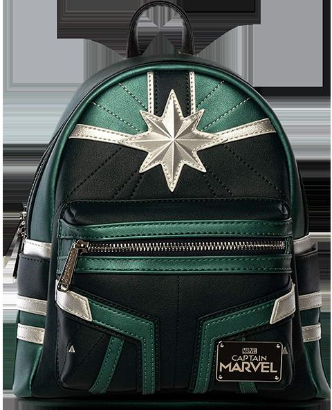 Loungefly Captain Marvel Training Mini Backpack Apparel