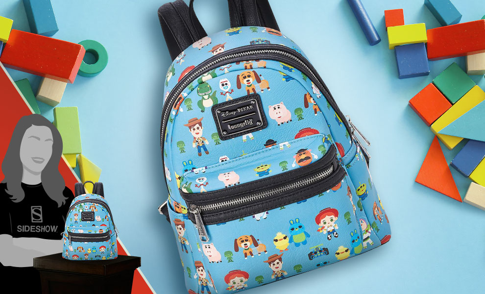 Gallery Feature Image of Toy Story Chibi Print Mini Backpack Apparel - Click to open image gallery