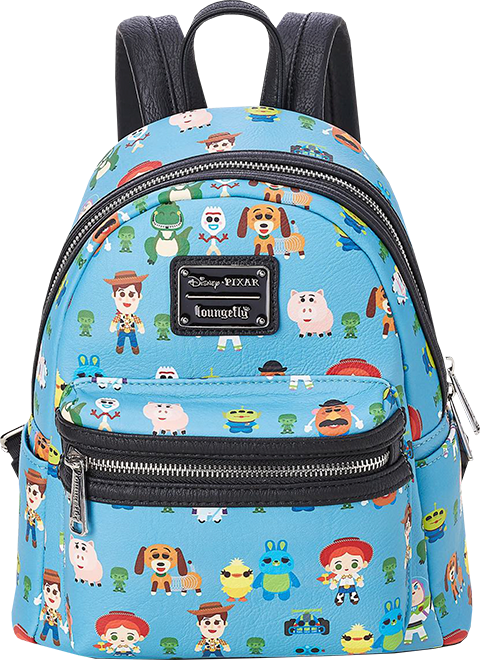 777f38bc148 Disney Toy Story Chibi Print Mini Backpack by Loungefly