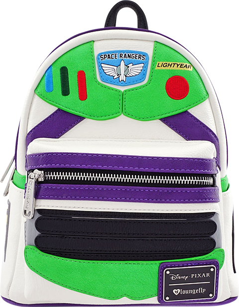 Loungefly Buzz Lightyear Character Mini Backpack Apparel