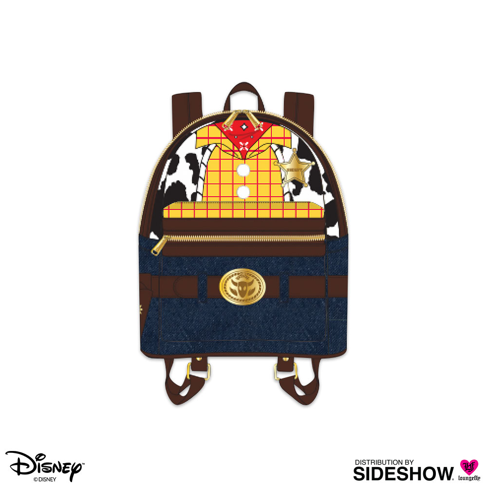 cbac92a5e24 Disney Woody Character Mini Backpack Apparel by Loungefly