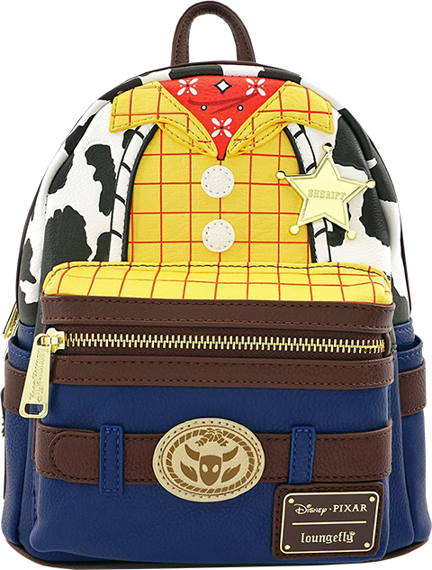 dc1d0927ae1 Disney Woody Character Mini Backpack Apparel by Loungefly