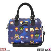 Gallery Image of Endgame Chibi Print Duffle Bag Apparel