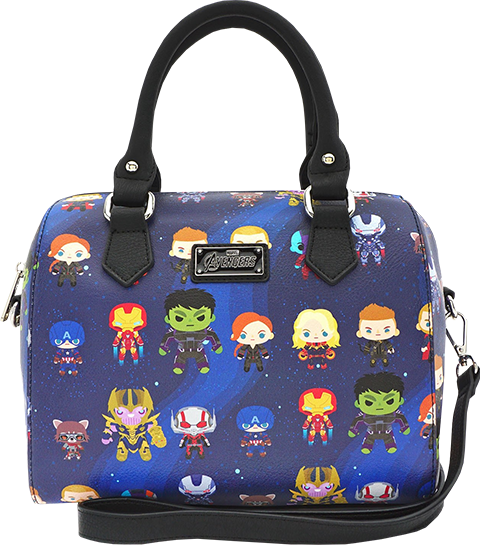Loungefly Endgame Chibi Print Duffle Bag Apparel