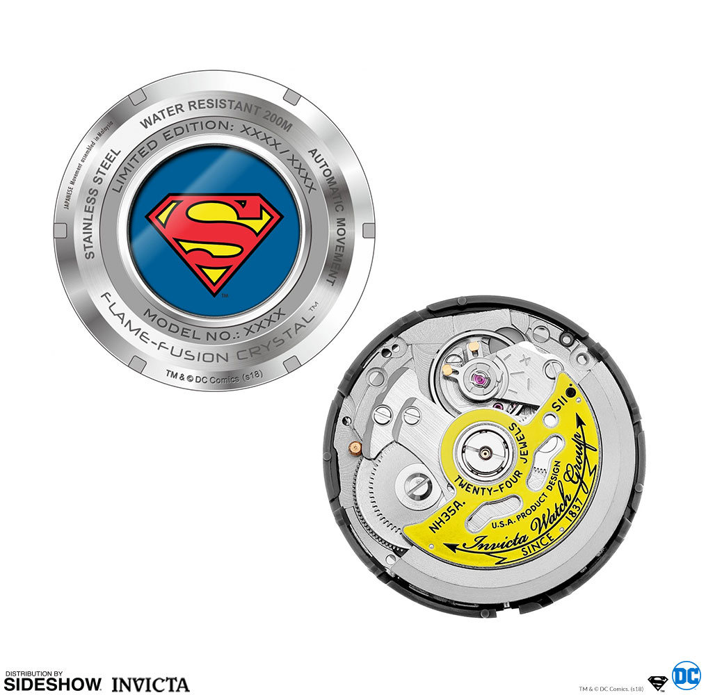 DC Comics Superman Watch - Model 27091 Jewelry by Invicta