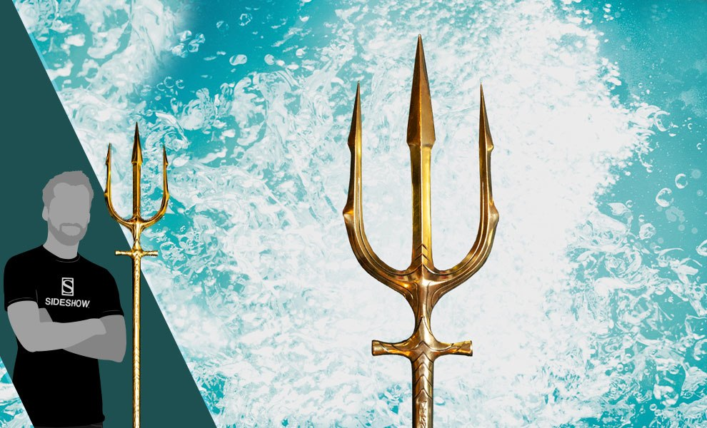 Gallery Feature Image of Aquaman Hero Trident Prop Replica - Click to open image gallery