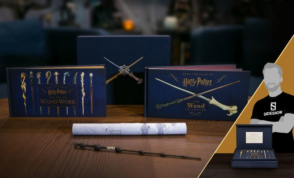 Gallery Feature Image of Harry Potter The Wand Collection Book - Click to open image gallery
