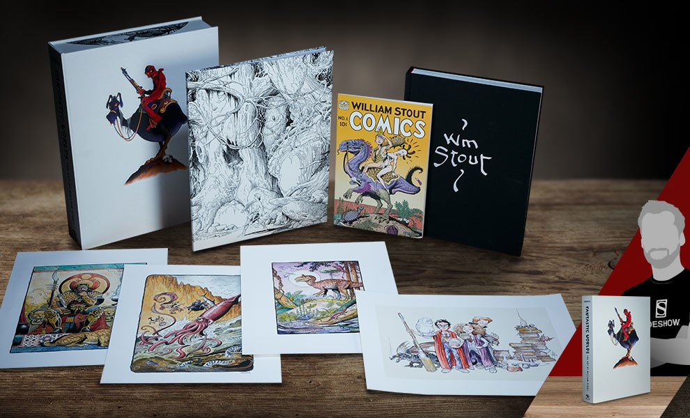 Gallery Feature Image of Fantastic Worlds The Art of William Stout Book - Click to open image gallery
