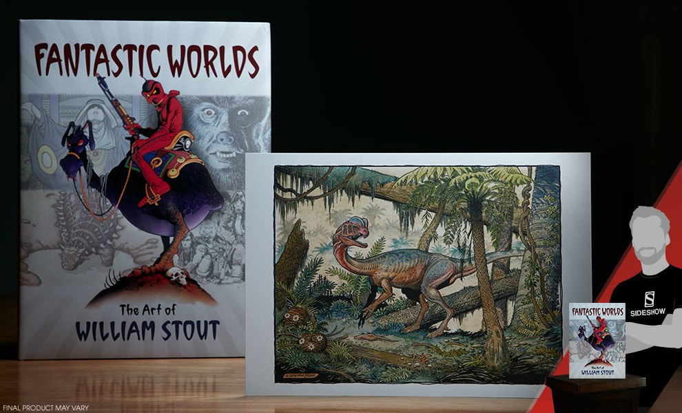 Gallery Feature Image of Fantastic Worlds The Art of William Stout Proprietary Edition Book - Click to open image gallery