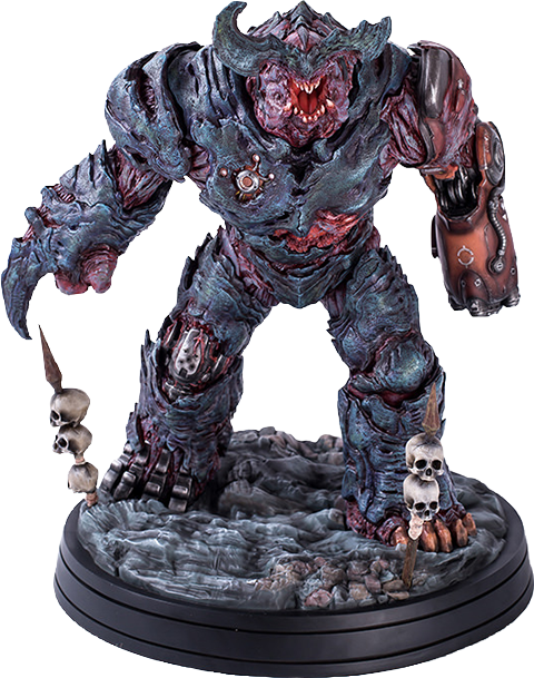 Gaming Heads Cyberdemon Statue Statue