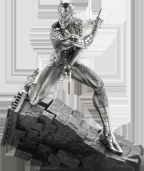 Royal Selangor Spider-Man Webslinger Figurine Pewter Collectible