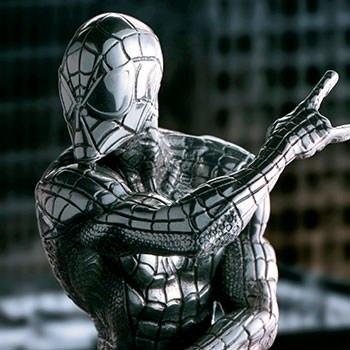 Spider-Man Webslinger Figurine Pewter Collectible