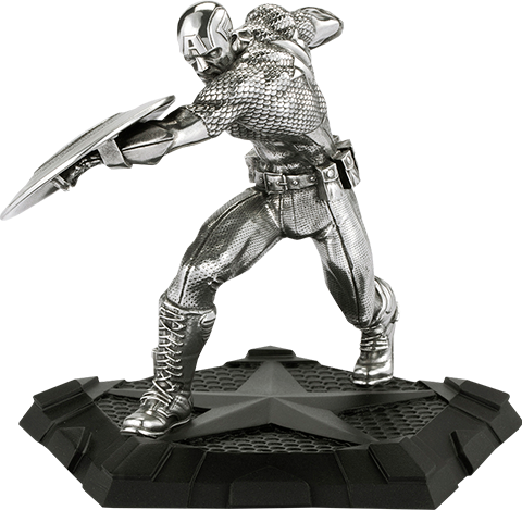 Royal Selangor Captain America First Avenger Figurine Pewter Collectible