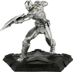 Captain America First Avenger Figurine Pewter Collectible