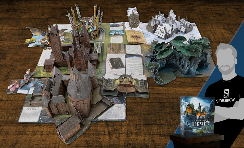 Gallery Feature Image of Harry Potter A Pop-Up Guide to Hogwarts Book - Click to open image gallery