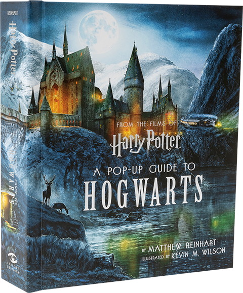 Insight Editions Harry Potter A Pop-Up Guide to Hogwarts Book
