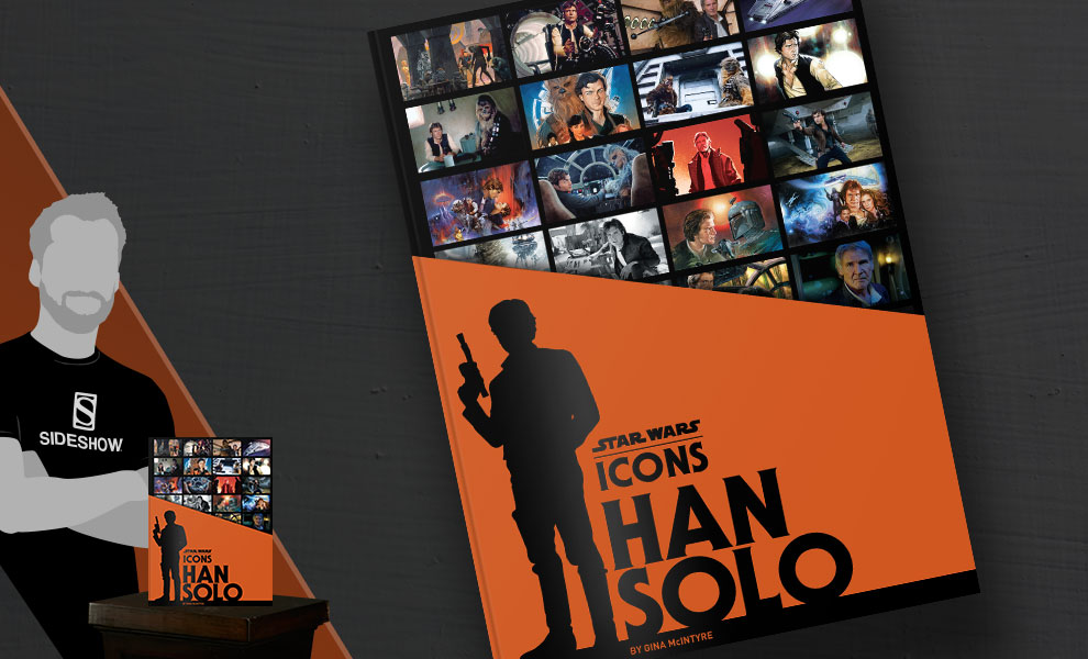 Gallery Feature Image of Star Wars Icons Han Solo Book - Click to open image gallery