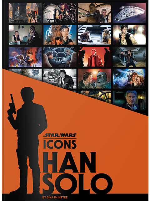 Insight Editions Star Wars Icons Han Solo Book