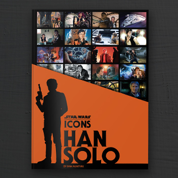 Star Wars Icons Han Solo Book