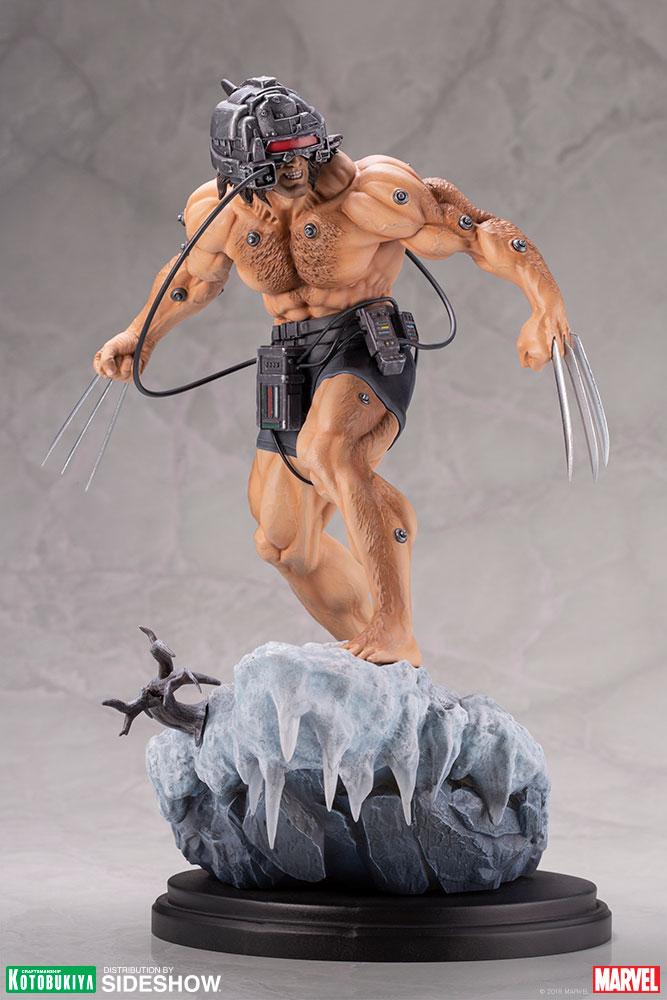 Marvel Weapon X Statue By Kotobukiya Sideshow Collectibles