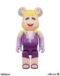 Gallery Image of Bearbrick Miss Piggy 100 and 400 Collectible Set