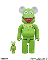 Gallery Image of Bearbrick Kermit the Frog 100 and 400 Collectible Set