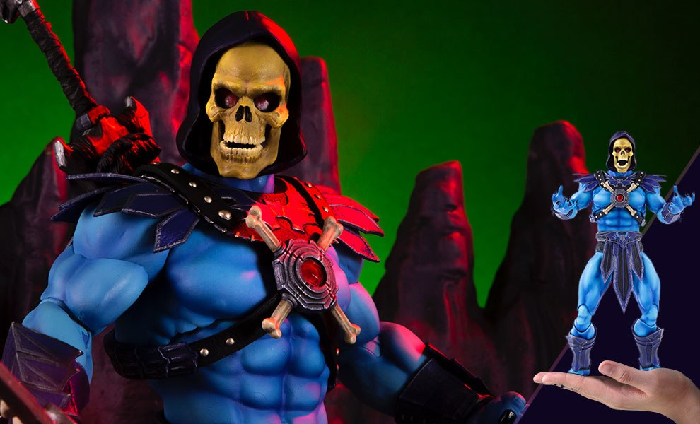 Gallery Feature Image of Skeletor Sixth Scale Figure - Click to open image gallery