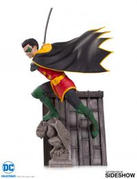 Gallery Image of Robin Bat Family Statue