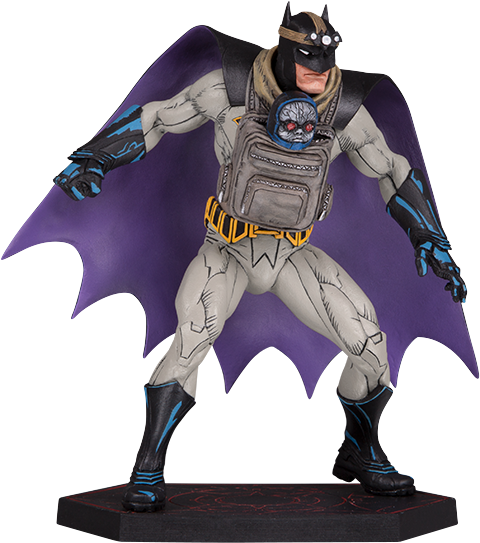 DC Collectibles Batman with Darkseid Baby Statue
