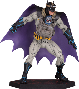 Batman with Darkseid Baby Statue