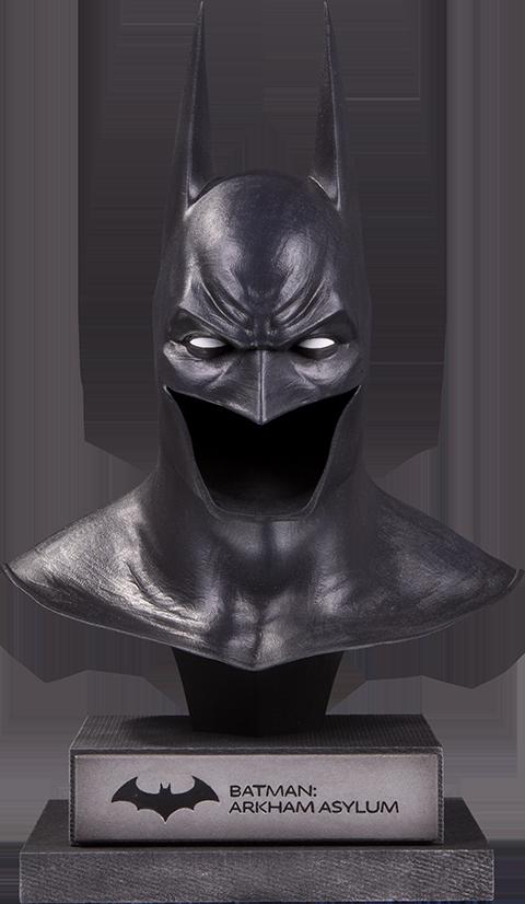 DC Collectibles Arkham Asylum Batman Cowl Statue