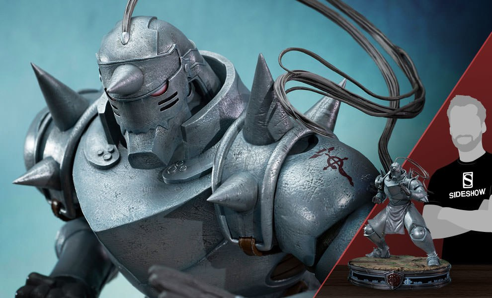 Gallery Feature Image of Alphonse Elric Gray Variant Statue - Click to open image gallery