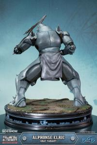 Gallery Image of Alphonse Elric Gray Variant Statue