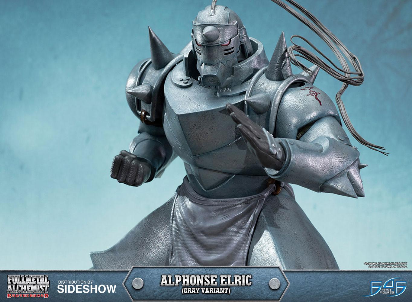 Al Elric fullmetal alchemist alphonse elric gray variant statuefi