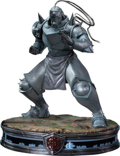 First 4 Figures Alphonse Elric Gray Variant Statue