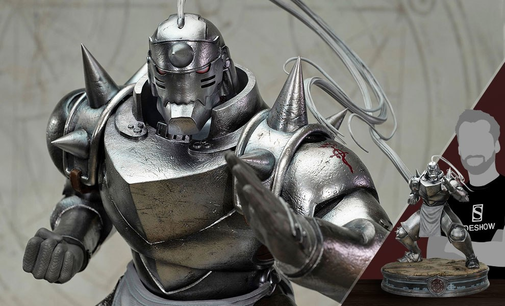 Gallery Feature Image of Alphonse Elric Silver Variant Statue - Click to open image gallery
