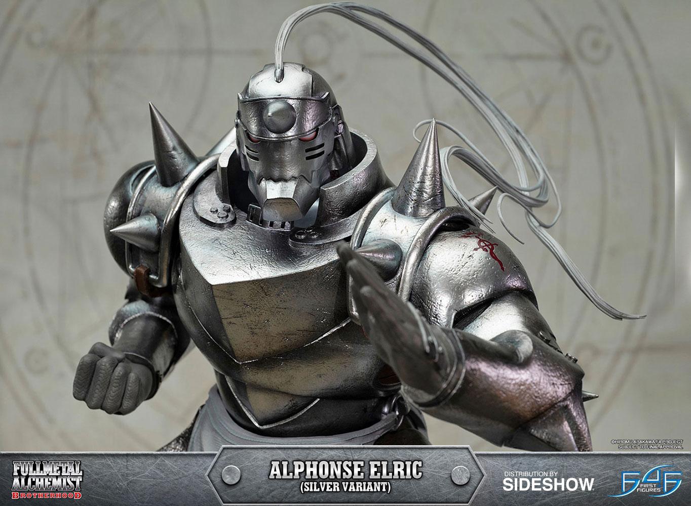 Al Elric fullmetal alchemist alphonse elric silver variant statue by