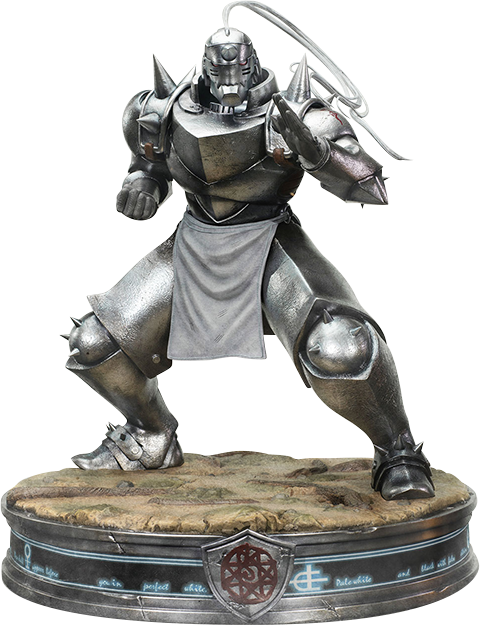 First 4 Figures Alphonse Elric Silver Variant Statue