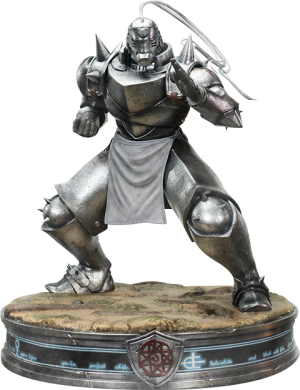 Alphonse Elric Silver Variant Statue