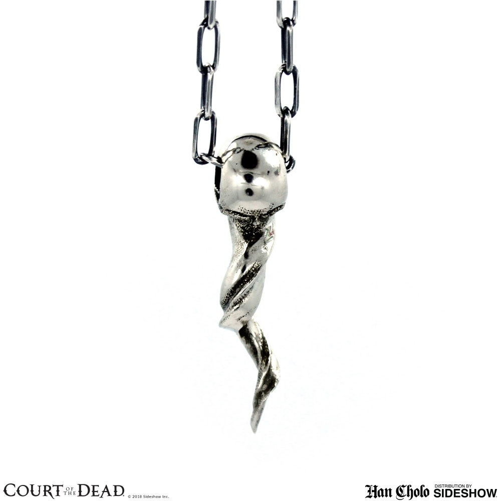 Court Of The Dead Spirit Skull Pendant Jewelry By Han Cholo Sideshow Collectibles