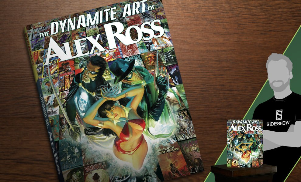 Gallery Feature Image of The Dynamite Art of Alex Ross Book - Click to open image gallery