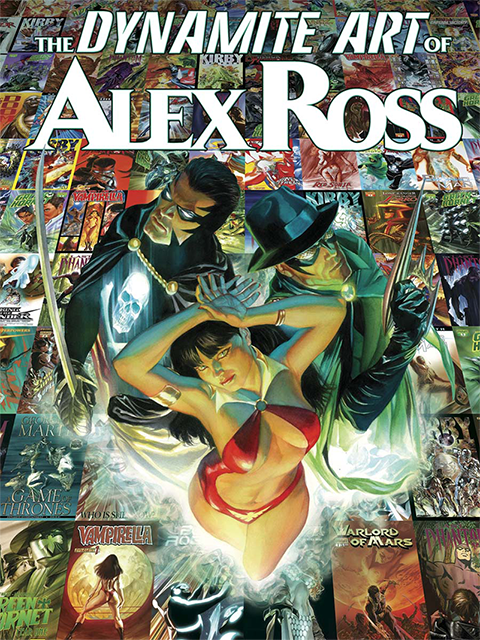 Dynamite Entertainment The Dynamite Art of Alex Ross Book