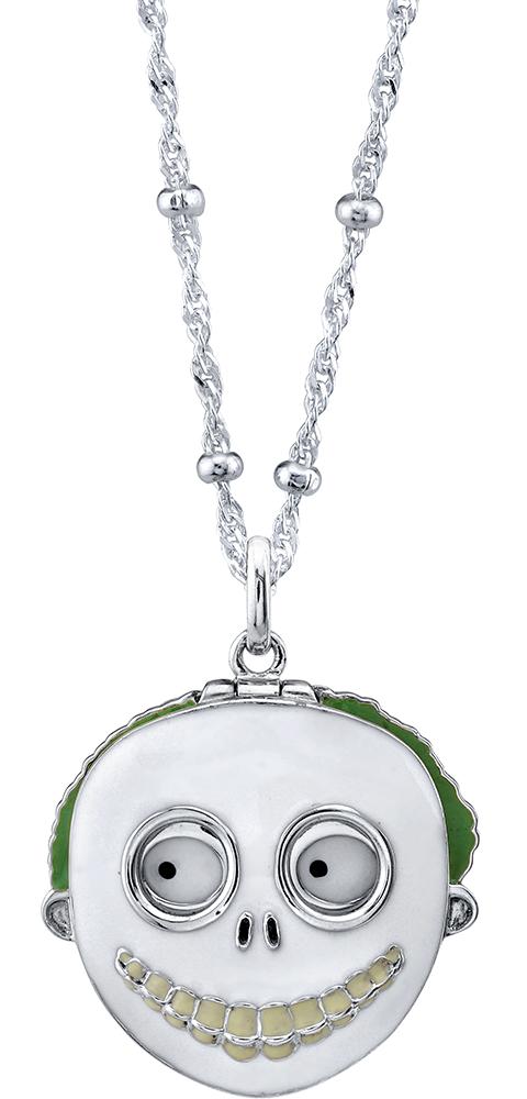 RockLove Barrel Mask Necklace Jewelry