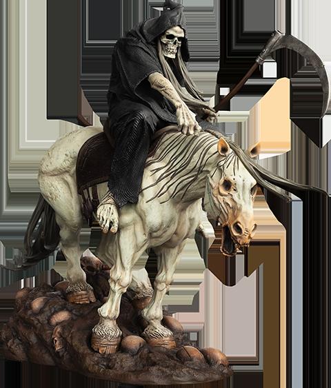 Level52 Studios The Reaper Polystone Statue
